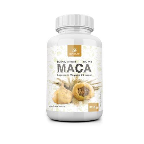 Zobrazit detail výrobku Allnature Maca bylinný extrakt 60 tobolek