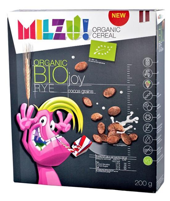 Zobrazit detail výrobku Milzu! BIO Cereálni zrnka s kakaem 200 g