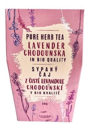 Zobrazit detail výrobku Levandulové Údolí Čaj z levandule Chodouňské Bio 30 g