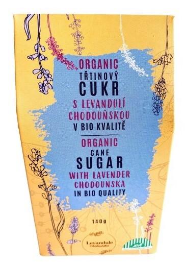 Zobrazit detail výrobku BIO Levandule Chodouňská BIO třtinový cukr s Levandulí Chodouňskou 140 g