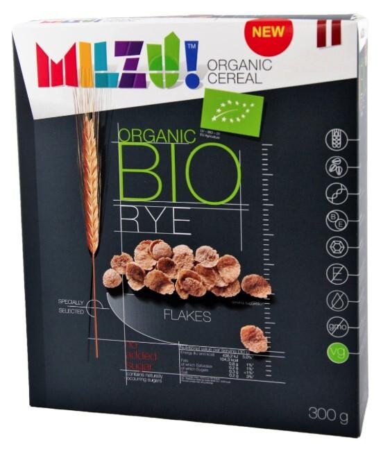 Zobrazit detail výrobku Milzu! BIO Žitné cereálie bez cukru 300 g