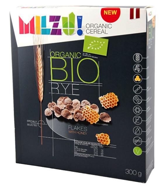 Zobrazit detail výrobku Milzu! BIO Žitné cereálie s medem 300 g
