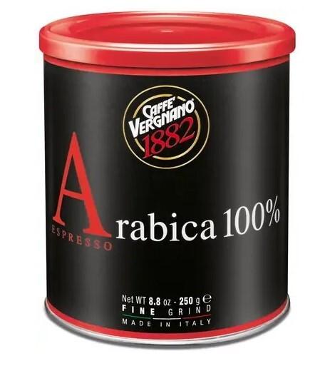 Zobrazit detail výrobku CASA DEL CAFE VERGNANO Káva mletá Vergnano Antica Bottega 250 g