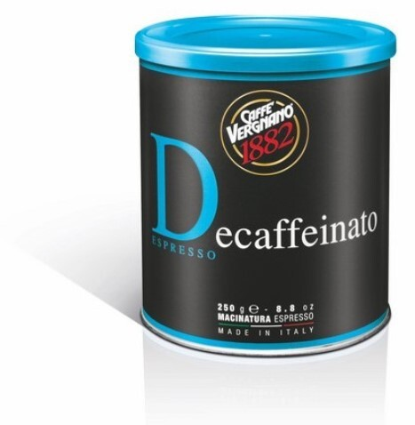 CASA DEL CAFE VERGNANO Káva mletá Vergnano Dec bezkofeínová 250 g