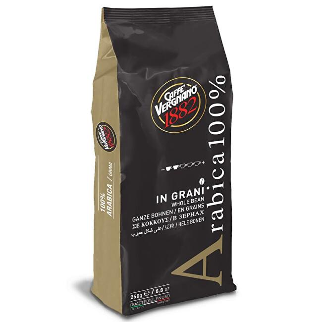 Káva zrnková Vergnano 100% Arabica 250 g