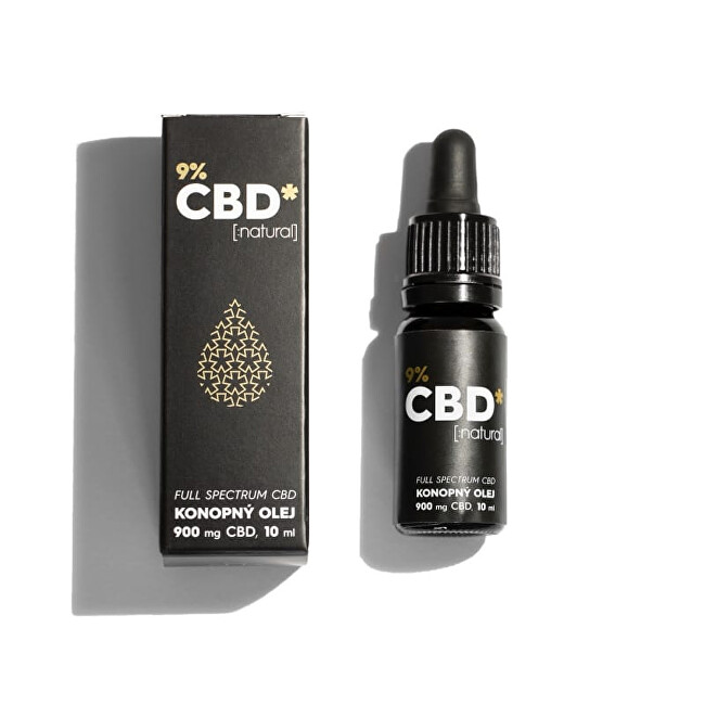 "CBD STAR CBD ""NATURAL"" OLEJ – 9 percent CBD"