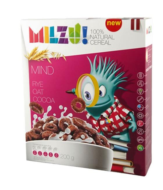 Zobrazit detail výrobku Milzu! Cereální kroužky s kakaem 200 g