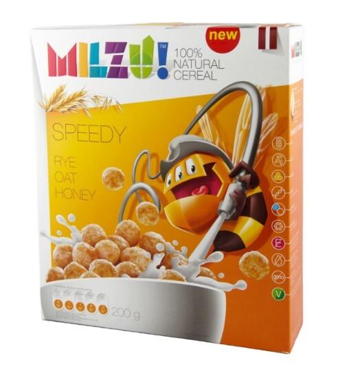 Zobrazit detail výrobku Milzu! Cereální kuličky s medem 200 g
