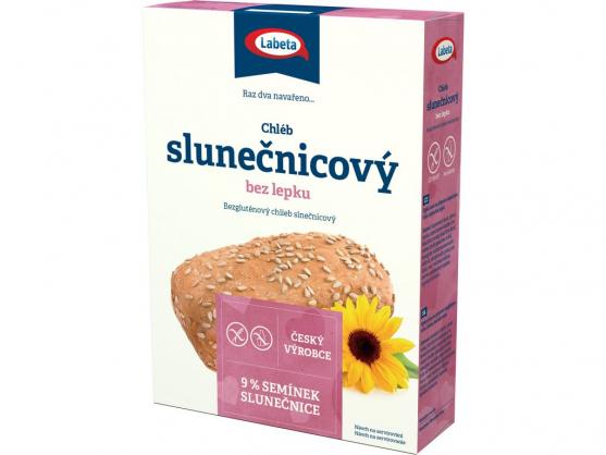 Zobrazit detail výrobku LABETA A.S. Chléb slunečnicový bez lepku 500 g