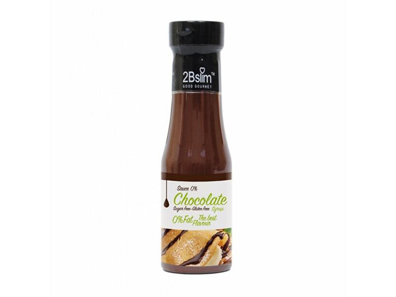 KetoMix Čokoládová omáčka bez kalorií 250 ml