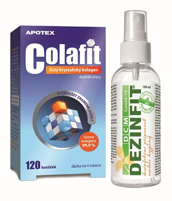 Zobrazit detail výrobku Aurovitas COLAFIT 120 kostiček + dezinfekce 100 ml