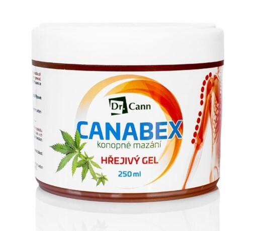 Zobrazit detail výrobku Dr Cann CANABEX™ Konopné mazání - hřejivý gel 250 ml