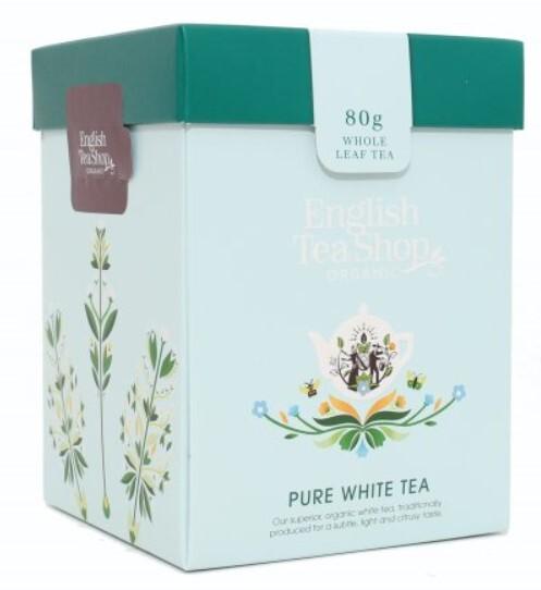 Zobrazit detail výrobku English Tea Shop Bílý čaj sypaný bio 80 g