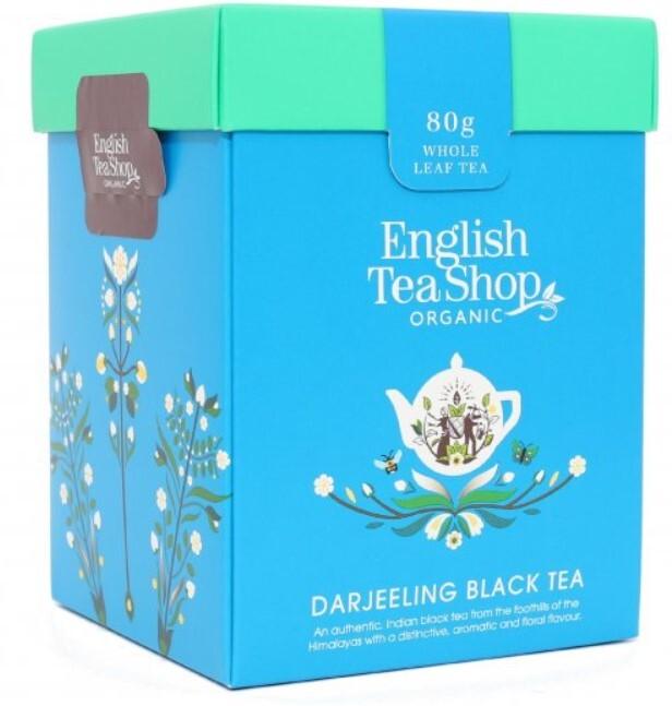 Zobrazit detail výrobku English Tea Shop Darjeeling černý čaj sypaný bio 80 g