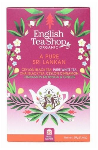 Zobrazit detail výrobku English Tea Shop MIX čistý Srílančan, BIO 20 sáčků