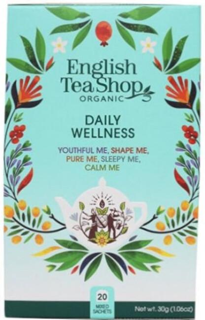 Zobrazit detail výrobku English Tea Shop MIX každodenní Wellness, BIO 20 sáčků