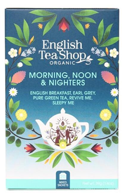 Zobrazit detail výrobku English Tea Shop MIX Ranní, polední a noční, BIO 20 sáčků