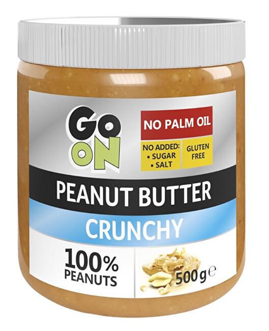Zobrazit detail výrobku Vieste GO ON Arašídové máslo s kousky arašídů 500 g