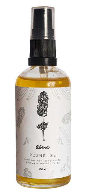 Zobrazit detail výrobku Alma-natural cosmetics Harmonizační tělový olej 100 ml - Poznej se