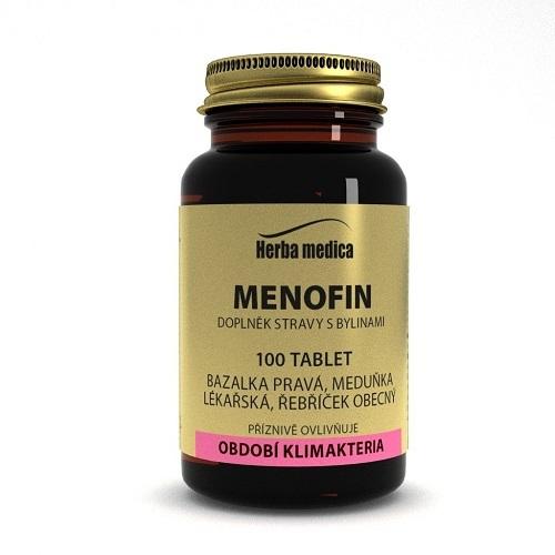 Zobrazit detail výrobku HerbaMedica Menofin - hormonální rovnováha , 100 tbl.