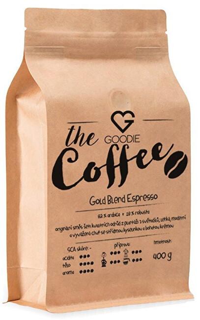 Káva zrnková - Gold Blend Espresso 400 g