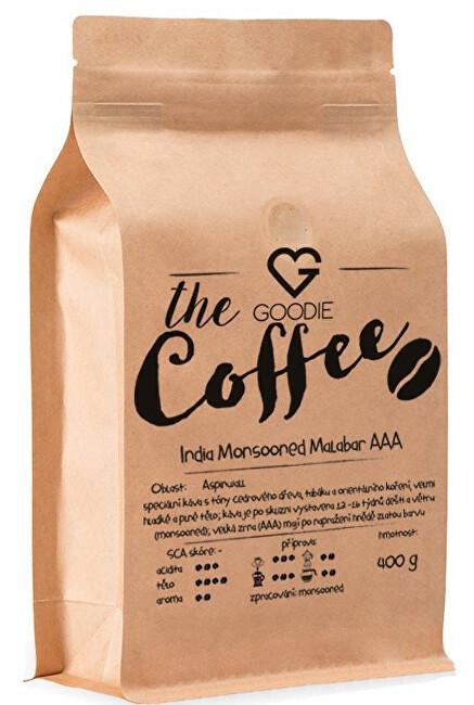 Káva zrnková - India Monsooned Malabar AAA 100 g