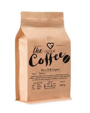 Káva zrnková - Peru SHB Organic 100 g