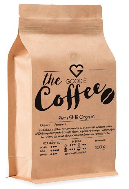 Zobrazit detail výrobku Goodie Káva zrnková - Peru SHB Organic 400 g