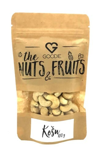 Zobrazit detail výrobku Goodie Kešu natural 100 g