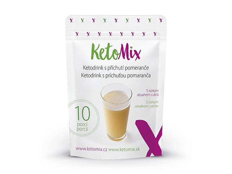 Zobrazit detail výrobku KetoMix Ketodrink s příchutí pomeranče (10 porcí)