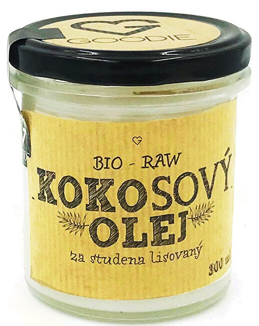 Goodie Kokosový olej BIO RAW panenský 300 ml
