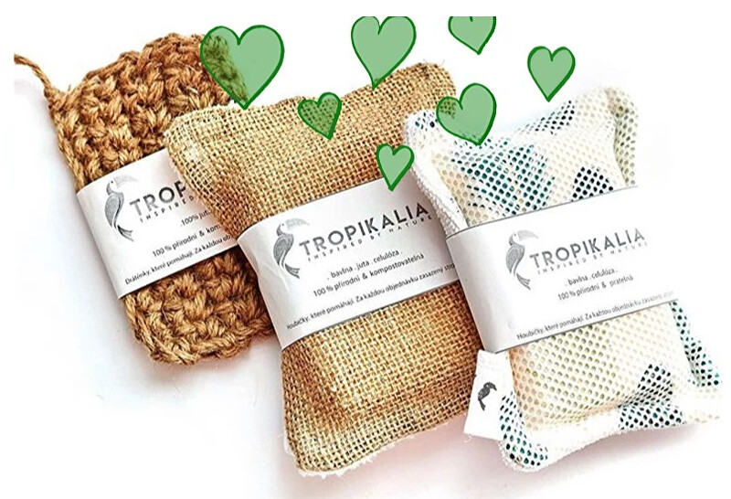 Zobrazit detail výrobku Tropikalia Kompostovatelné trio houbiček