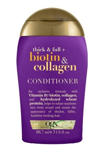 Kondicioner pro husté a plné vlasy biotin-kolagen 88 ml mini