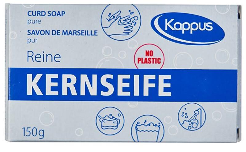 Zobrazit detail výrobku Kappus Koupelové Čisté tvrdé mýdlo v krabičce - bílé 150 g