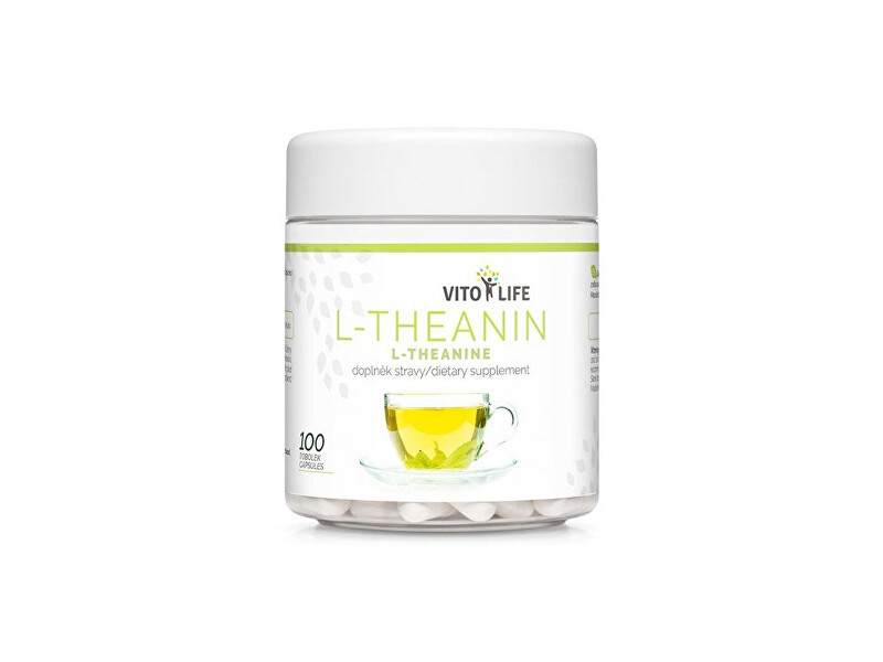 Zobrazit detail výrobku Vito life L-Theanin 200 mg, 100 tobolek