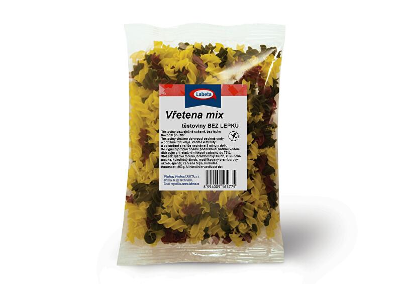 Zobrazit detail výrobku LABETA A.S. Těstoviny - Vřetena mix bez lepku 250 g