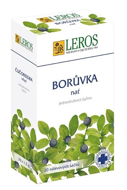 Zobrazit detail výrobku LEROS Borůvka - nať 20 x 1,5 g