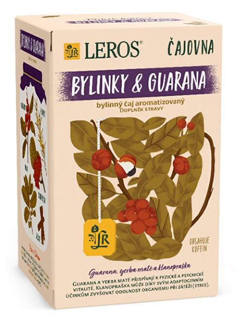 Zobrazit detail výrobku LEROS Čajovna Bylinky a Guarana 20 x 2 g