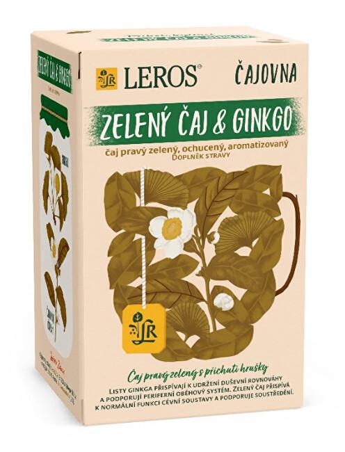 Zobrazit detail výrobku LEROS Čajovna Zelený čaj Ginkgo 20 x 2 g