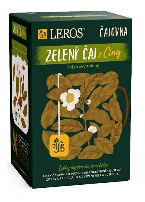 Zobrazit detail výrobku LEROS Čajovna Zelený čaj z Číny 20 x 2 g