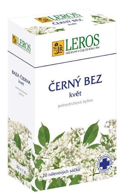 Zobrazit detail výrobku LEROS Černý bez - květ 20 x 1 g