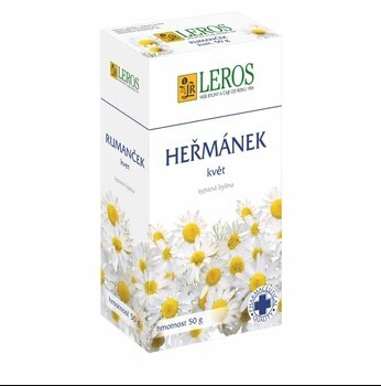 Zobrazit detail výrobku LEROS Heřmánek 50 g