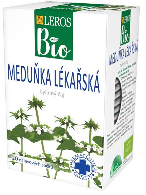 Zobrazit detail výrobku LEROS BIO Meduňka lekářska 20 x 1 g