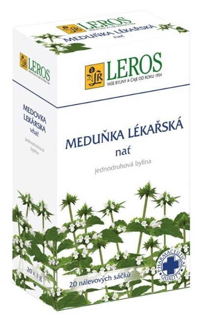 Zobrazit detail výrobku LEROS Meduňka 20 x 1 g
