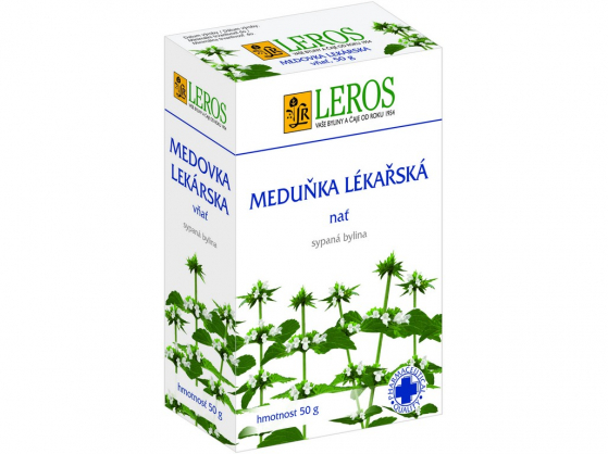 Zobrazit detail výrobku LEROS Meduňka - nať 50 g