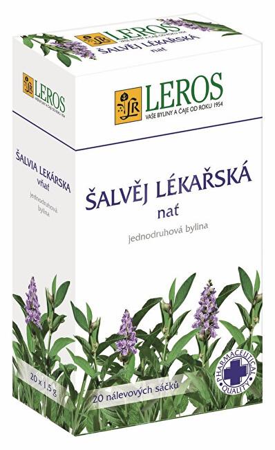 Zobrazit detail výrobku LEROS Šalvěj lékařská nať 20 x 1,5 g
