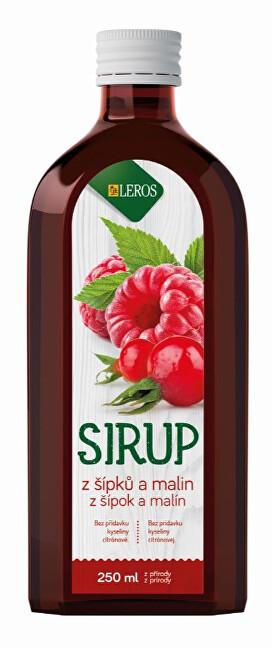 Zobrazit detail výrobku LEROS Sirup Šípek a Malina 250 ml