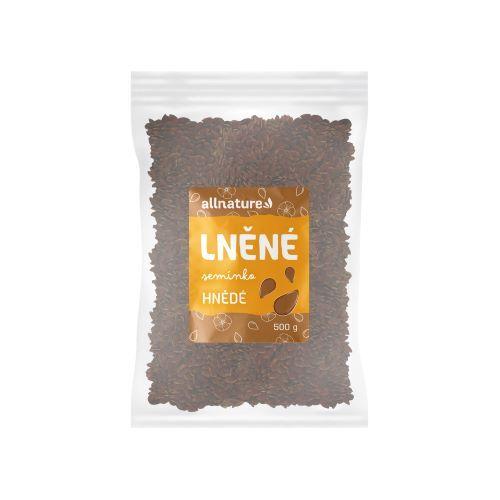 Zobrazit detail výrobku Allnature Lněné semínko hnědé 500 g