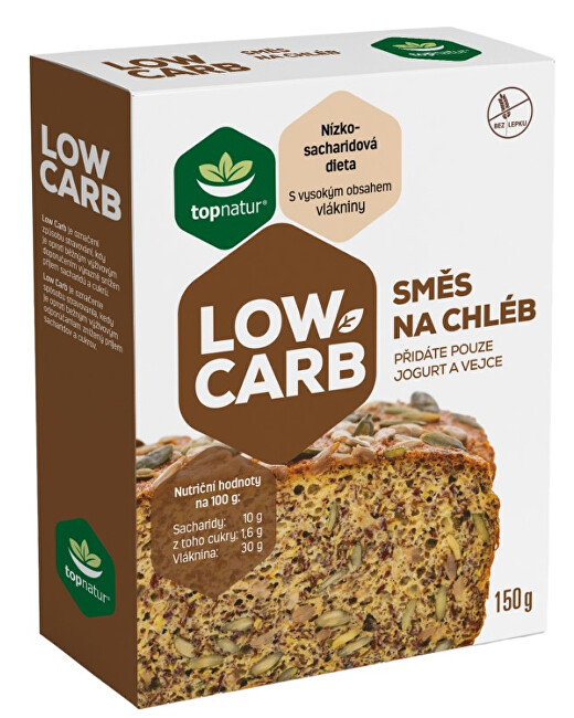 Zobrazit detail výrobku Topnatur Low Carb Směs na chléb 150 g