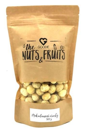 Zobrazit detail výrobku Goodie Makadamové ořechy 500 g